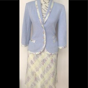 St John skirt suit size 4